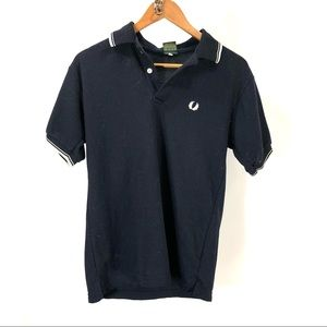 Vintage Fred Perry blue polo Large